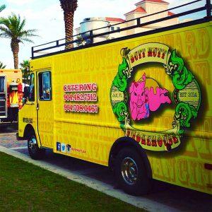 custom wrap food truck
