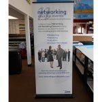 Pittsburgh Trade Show Displays banner vinyl tradeshow retractable indoor 150x150